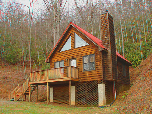 Vacation Cabin Rentals in Brevard, NC