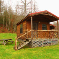 Camping Cabins for Rent in Brevard NC