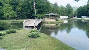 Fishing Pond in Brevard NC